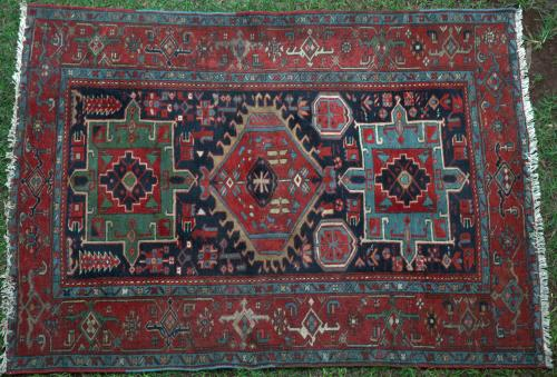 Antique Karadja Persian Rug