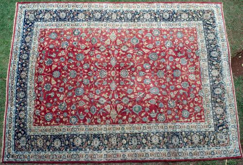 Old Yadz Persian Carpet