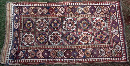 Antique Moghan Karabagh/Talish Caucasian rug