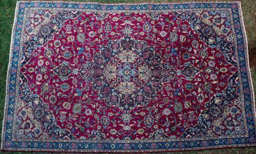 Old Mashad Khorassan Persian carpet