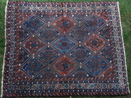 Old or Antique Afshar tribal Persian rug