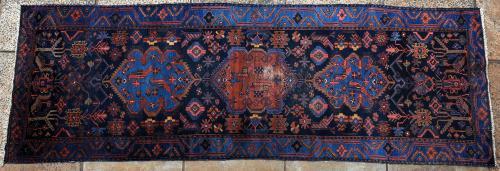 Antique Malayer Persian Runner
