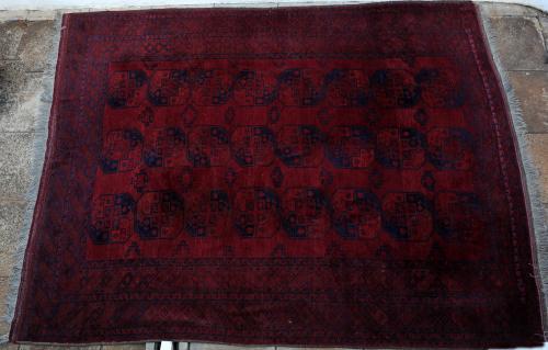 Old Afghan Ersari Carpet
