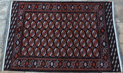 Tekke Turkoman Soviet or Persian Carpet