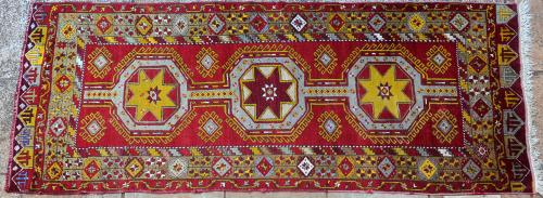Old to antique Anatolian Turkish tribal runner