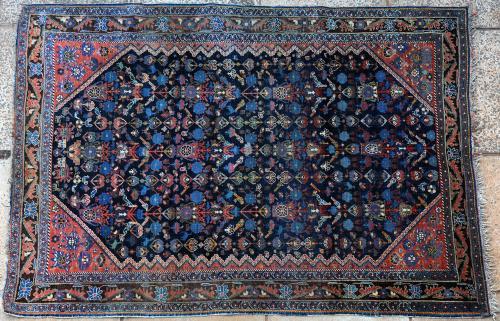 Antique or old Qashqa'i (?) tribal Persian rug