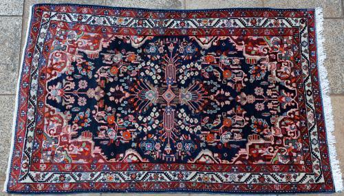 Malayer or Borchalu Western Persian Rug