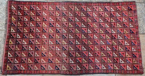Antique Beshir Turkoman Carpet