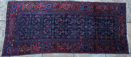Old Bijar Kurdish Persian Rug