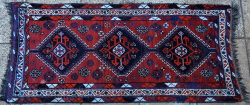 Antique or old Qashqa'i (?) tribal Persian rug