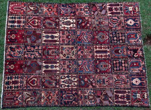 Bakhtiari Persian Carpet