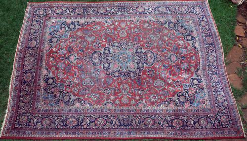 Antique Sarouk Persian Carpet