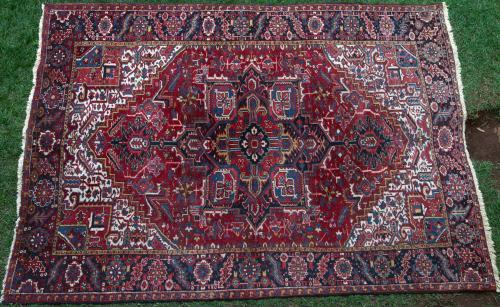 Old Heriz Persian Carpet