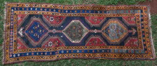 Antique Yuruk Tribal Anatolian Turkish Rug