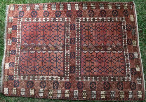Antique Afghan Hatchlu or Engsi rug