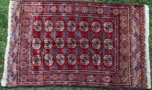 Old Soviet Tekke rug