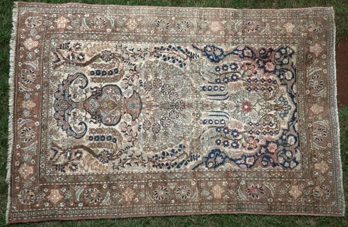 Antique Persian Isphahan one of pair