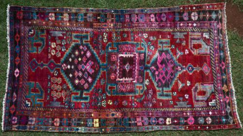 Old Persian Tribal Rug