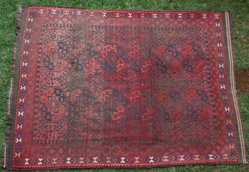 Ersari Antique Carpet Afghanistan