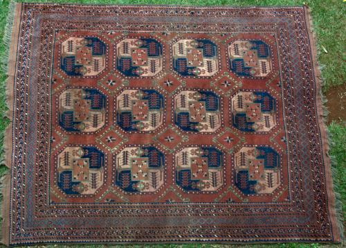 Old Ersari Afghan Main Carpet
