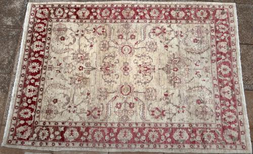 Afghan Chobi Ziegler Persian design carpet