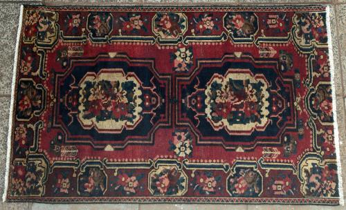 Old Bakhtiari Persian Rug