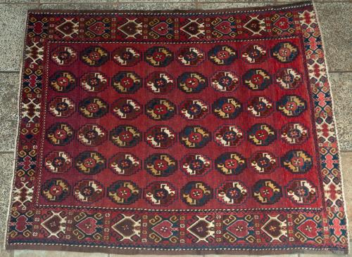 Old Beshir Turkoman Carpet