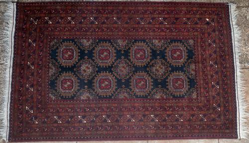 Old Sarukh Turkoman Afghan rug