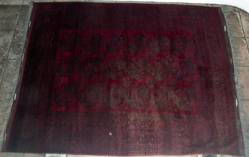 Old Afghan Ersari rug