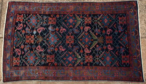 Old northwest Persian Malayer Rug