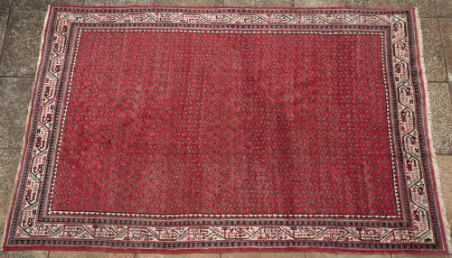 Old Serabend Persian Carpet