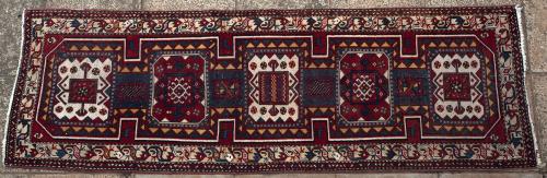 Old Persian Azerbaijan Shirvan design runner