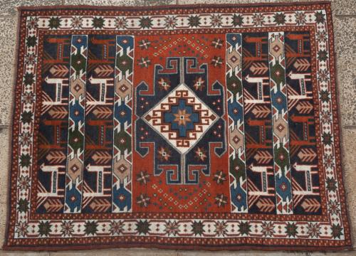 Afghan (?) Caucasian Akstafa rug