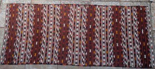 Antique Kashgari Turkoman Kilim