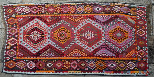 Old Turkish Anatolian Kilim
