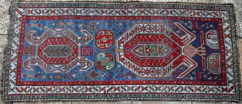 Antique Lenkoran Caucasian Rug