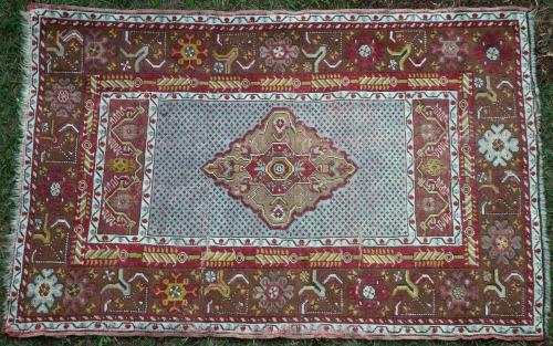 Old Turkish Anatolian Ghiordes or Dazkiri Rug