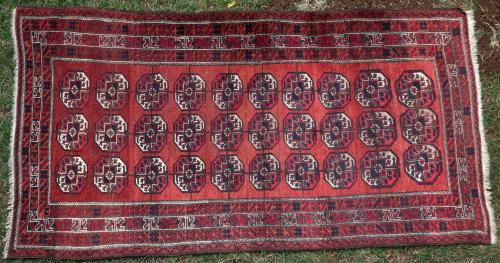 Old Baluch Tribal Rug Afghan
