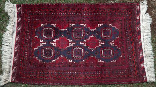Old Baluch Tribal Rug Afghan