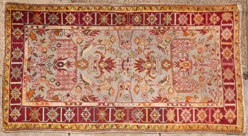 Old to antique Anatolian Turkish rug
