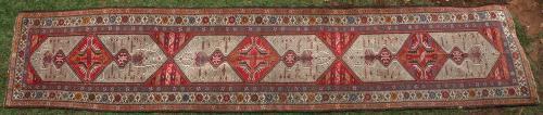 Old or antique 'Sarapi' or Serab Persian Runner