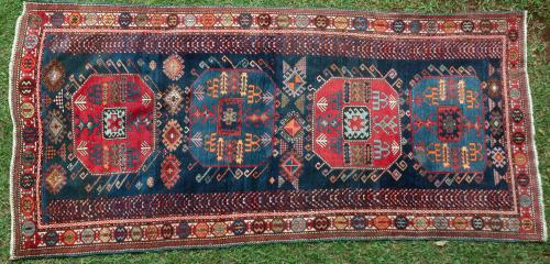 Antique Chajli Moghan Shirvan Caucasian rug