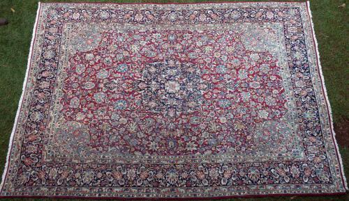 Old Kashan Persian Carpet