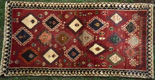 Old Luri Qashqa'i Tribal Rug Persian