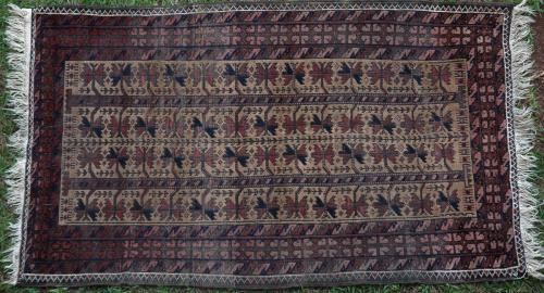 Antique Baluch Pillow Bag or Balisht