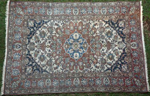 Antique Isphahan (?) Persian Rug