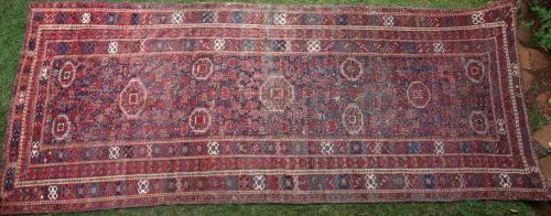 Antique Beshir Turkoman Turkmenistan Main Carpet