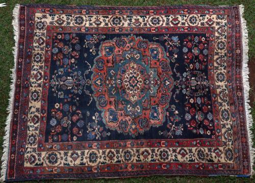 Antique Afshar Tribal Persian Rug
