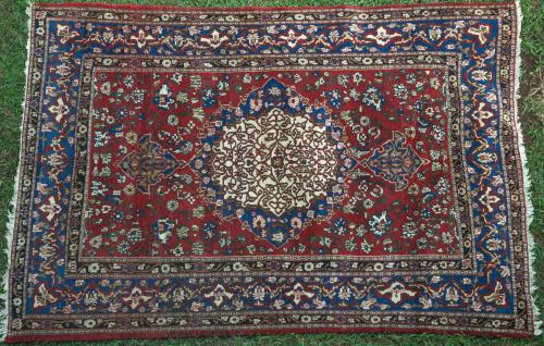 Old Isphahan Persian Rug