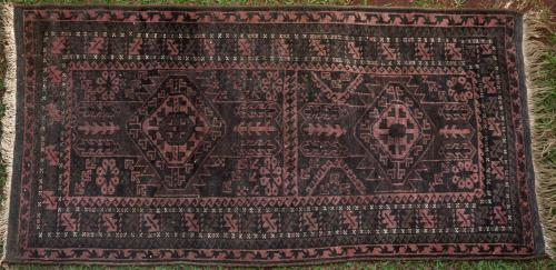 Antique Baluch Afghan Rug